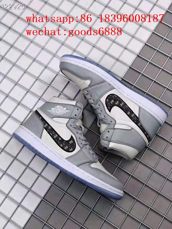 wholesale newest 1:1 best quality dior Nike Air Jordan 1 sports basketball shoes 14