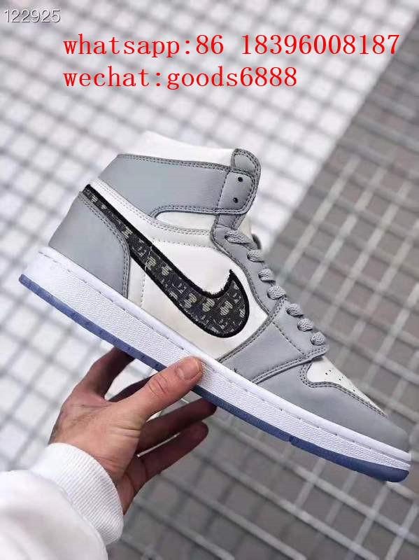 wholesale newest 1:1 best quality dior Nike Air Jordan 1 sports basketball shoes 15