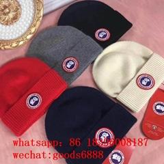 wholesale cheap Moncler knitt moncler ribbed-knit beanie hat wool winter Caps
