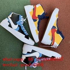 wholesale original best quality Sacai X      Blazer with Dunk sports sneakers