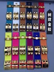 Wholesale Newest Leather               jewelry    Shield Studded Bracelet bangle