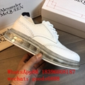 wholeSale 1:1 best Alexander McQueen sneankersTop Quality McQ leather Trainers