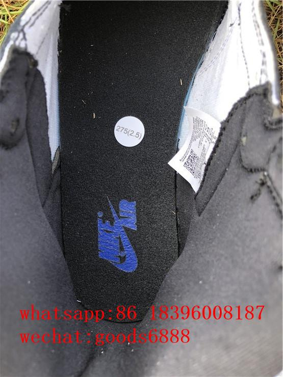 authentic      Air Jordan 1 Retro High Og Game Royal Basketball Shoes Sneakers 2