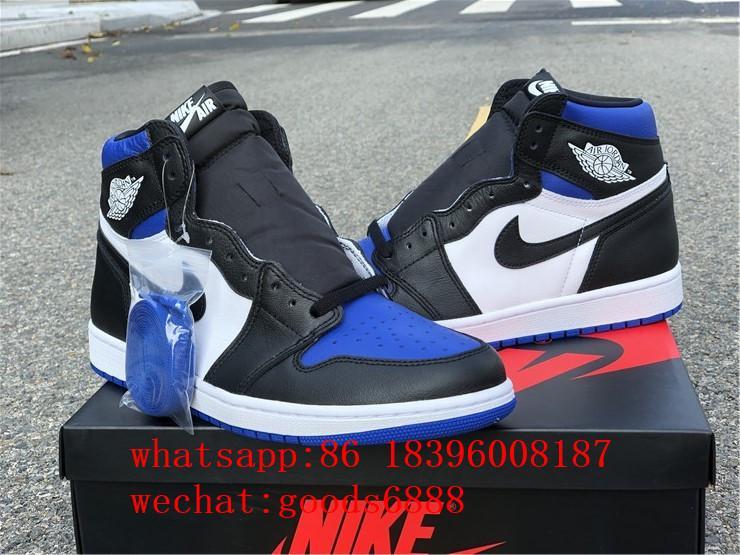 authentic      Air Jordan 1 Retro High Og Game Royal Basketball Shoes Sneakers 3
