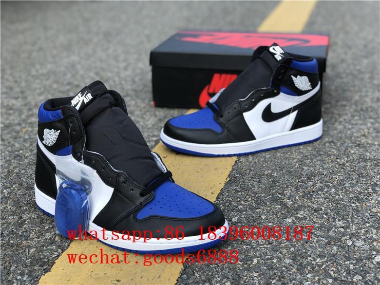 authentic      Air Jordan 1 Retro High Og Game Royal Basketball Shoes Sneakers 4
