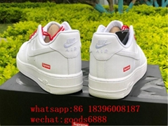 wholesale original Supreme x Nike Air Force 1 Low Running Shoe Sports sneakers (Hot Product - 1*)
