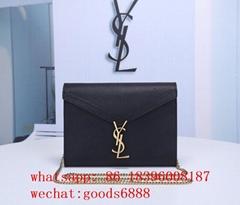 wholesale original     handbags Sleek shiny bags saint Laurent purses bag wallet