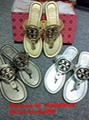 wholesale free shipping Tory Burch Original slippers sandal Flat Slide