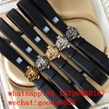 wholesale free shipping newest fashion original Versace belt real leather belt
