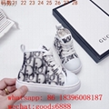wholesale all kinds brand  top quality child sneakers dior kids 1:1 sports shoes