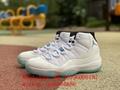 wholesale original quality  Air Jordan 11 Low AJ11 Legend Blue basketball shoes