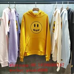 wholesale authentic drew house hoodies tee justin bieber clothings factory price