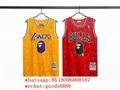 original BAPE NBA jersey Los Angeles Lakers Mens NBA Retro shirt stitched Jersey (Hot Product - 2*)