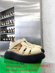 wholesale original cheap Leather Sandals discount Bottega Venata Quilted Sandals (Hot Product - 2*)