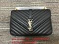 top handbags Sleek shiny bags saint Laurent purses with tassels chain wallet
