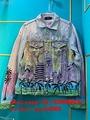 best high quality new arrival Amiri jean jacket Trucker Paint Splatter coats