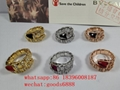 wholesale cheapest Hot sell  top 1:1 newest Bulgari  jewelry fashion rings
