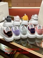 Wholesale newest top Alexander McQueen  leather Willow sneakers  MQ Casual shoes