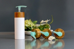 Bamboo Emulsion Lotion Bottle With