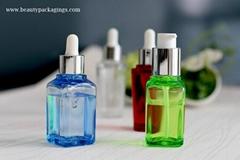 Thick PET Emulsion Bottle Essential Dropper Bottle