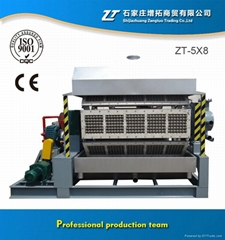 2015 the latest design plastic egg tray machine ZT-4X8 +86 17732834799