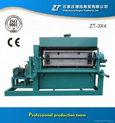 Rotary Fully Automatic Paper Egg Tray / Shoe Tray Making Machine with 3000Pcs/H