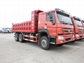 Sino howo 371hp tipper truck for sale