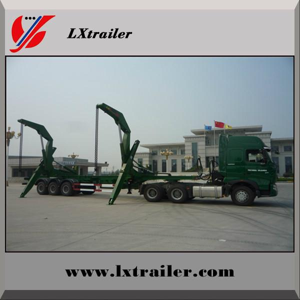 3 Axles 45Tons Side Lifter Container Box Semi Trailer  1
