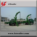 3 Axles 45Tons Side Lifter Container Box Semi Trailer  3