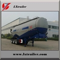 3 Axles 50CBM Bulk Cement Tanker Semi