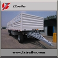 3 Axles 45Tons Flatbed Side Wall Full