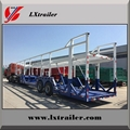 Double axle car carrier semi truck