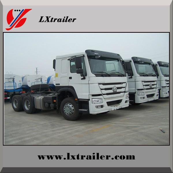 China Sinotruk Howo tractor truck for semi trailer 2