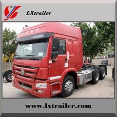 China Sinotruk Howo tractor truck for semi trailer