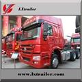 China Sinotruk Howo tractor truck for semi trailer 4