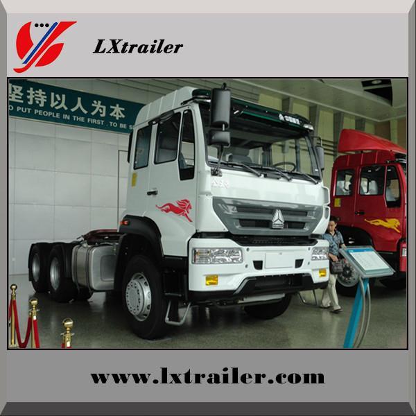 China Sinotruk Howo tractor truck for semi trailer 3