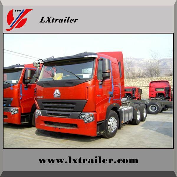 China Sinotruk Howo tractor truck for semi trailer 5