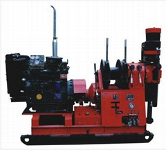 spindle type drilling rig