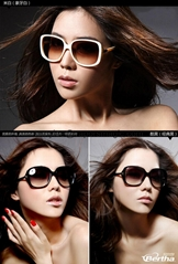 Wholesales Fashionable Women UV400 Sunglasses