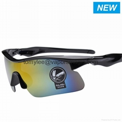2017 Multicolor UV400  PC Lenses Fashion Night Vision Sunglass Sports