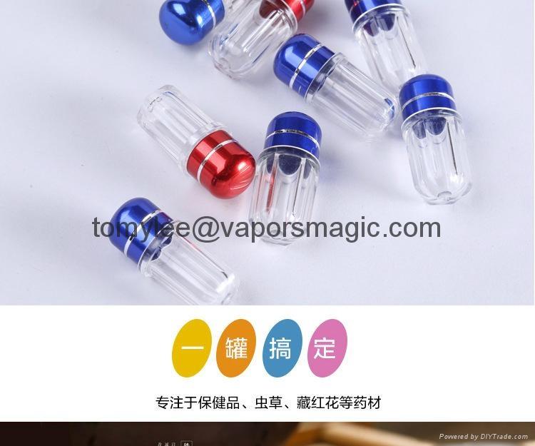 Rhino 7 / Rhino 69  Sex Packaging Plastic Case Capsule Bottles Pill Contaier 7