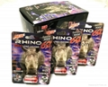 RHINO 9 PILLS Paper Packaging Blister Cards