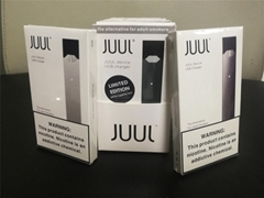 NEWEST ELECTRONIC CIGARETTE DEVICES JUUL PODS BATTERY BASIC KIT HUGE SMOKING