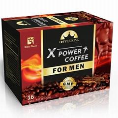 OEM Male Enhancement Instant  X-Power Black Coffee Tea Bags For Men