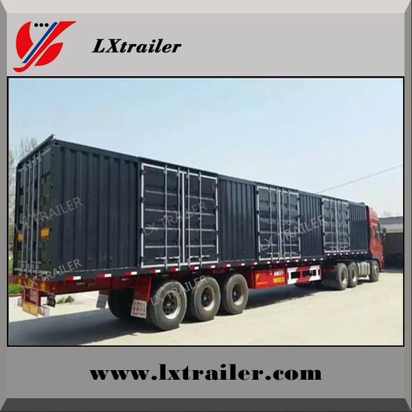 40 ton strong box trailer/container trailer for sale 1