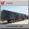 40 ton strong box trailer/container trailer for sale
