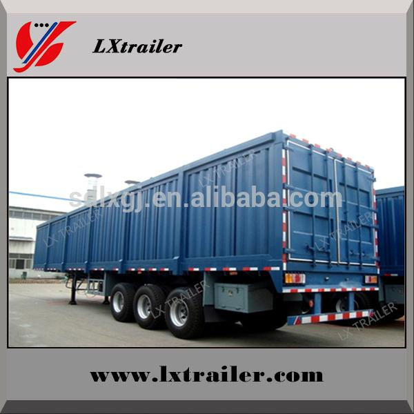 40 ton strong box trailer/container trailer for sale 3