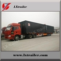 40 ton strong box trailer/container trailer for sale 2