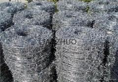 Razor barbed iron wire