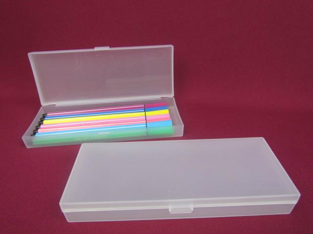 Recyclable Feature and PP Plastic Type pen box pencil box  stationery box 1